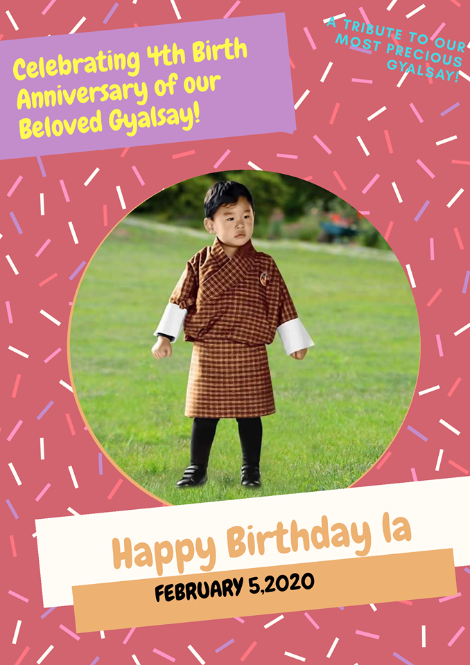 Happy Birthday to Gyalsey